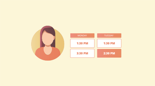 scheduling interviews for candidates